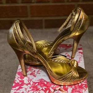 Chinese Laundry Cute Gold Sandals